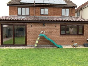 bronze reflective window tinting Coventry