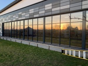 Commercial window tinting Cambridge