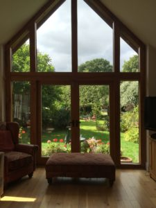 solar heat control window film fitted in a residential property