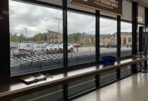 solar control window film for a supermarket in Birmingham