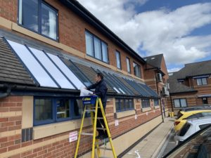 Commercial Window Tinting across the Midlands